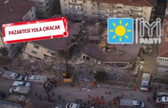 İYİ Parti İzmir'den, Elazığ'a yardım seferberliği