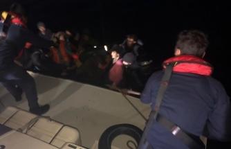 İzmir'de 36 düzensiz göçmen yakalandı