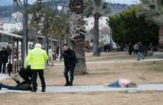 İzmir'de dehşet! Önce eşini vurdu, sonra...