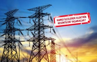 İzmir'de elektrikkesintisi: Bazı ilçelerde uzun süre devam edecek