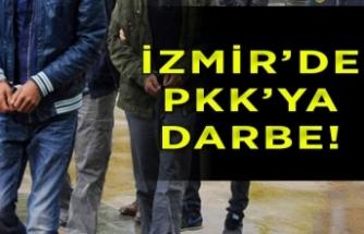 İzmir'de teröre darbe! Çok sayıda gözaltı...