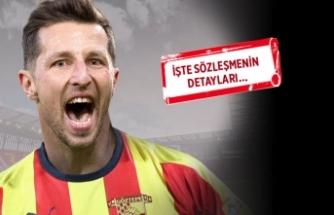 Kamil Wilczek resmen Göztepe'de