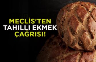 Meclis'ten tahıllı ekmek çağrısı!