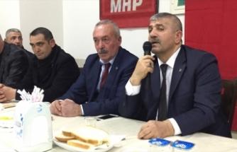 MHP İzmir İl Yönetim Kurulu, Tire'de toplandı