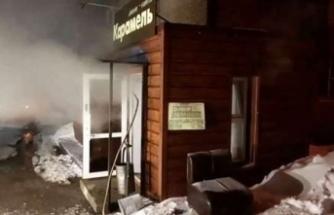 Otelin sıcak su borusu patladı: 5 ölü