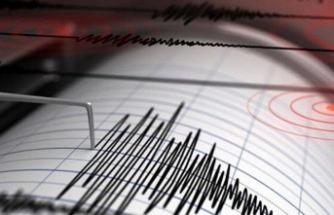 Sivrice'de 5,1 büyüklüğünde deprem kaydedildi