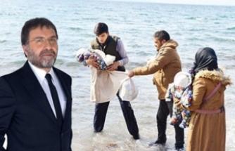 Ahmet Hakan, mülteci kararını savundu: Anca bundan anlar!