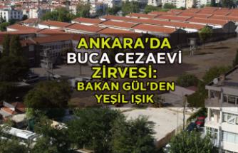 Ankara'da Buca Cezaevi zirvesi