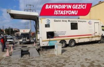 Bayındır'a Gezici İstasyon