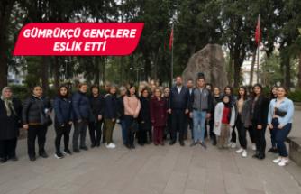 Çiğli Atatürk'ün izinden yürüyor