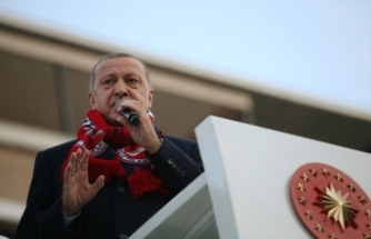 Cumhurbaşkanı Erdoğan, Bergama'yı ziyaret etti