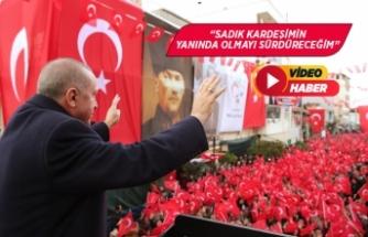 Cumhurbaşkanı Erdoğan, Kınık ilçesini ziyaret etti