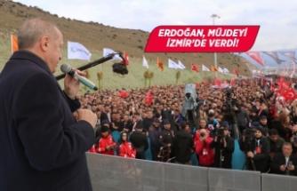 Cumhurbaşkanı Erdoğan: İzmir'in çehresini değiştirdik