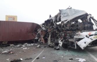 Hindistan'da korkunç kaza! En az 19 ölü