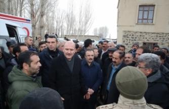 İçişleri Bakanı Süleyman Soylu, incelemelerde bulundu