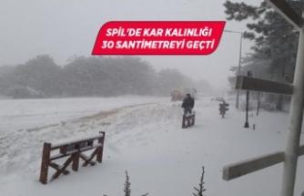 İzmir-Ankara kara yolunda 'kar' engeli