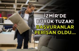 İzmir'de büyük tuzak! Başvuranlar perişan oldu...