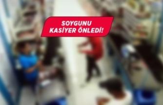 İzmir'de markette soygun girişimi!