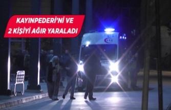 İzmir'de silahla kahvehaneyi bastı...