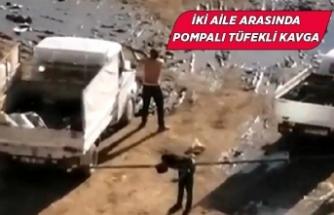 İzmir Karşıyaka'da pompalı tüfekli kavga!