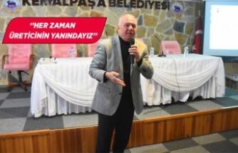 Kemalpaşa'da çiftçiye ücretsiz toprak analizi