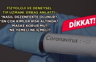 Kolonya ve çamaşır suyu bu virüsü öldürüyor