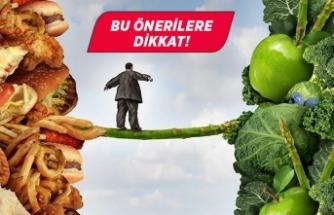 Obeziteden korunmak için bunları yapın!