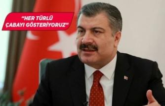 Sağlık Bakanı Fahrettin Koca, depremle ilgili bilgi verdi