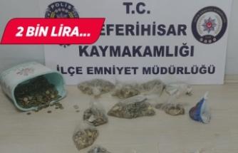 Seferihisar'da kafeden para çalan bir kişi tutuklandı