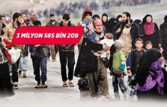 Türkiye'de Suriyeli nüfusu artışa geçti
