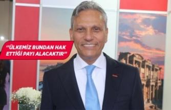 """TÜRSAB Başkanı Bağlıkaya: """"Türk turizmi...''"""