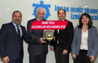 Yunanistan'ın Ankara Büyükelçisi Diamessis'ten DTO İzmir Şubesi'ne ziyaret