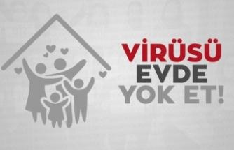 """Bakan Soylu'dan """"Virüsü evde yok et"""" paylaşımı"""