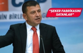 CHP Genel Başkan Yardımcısı Veli Ağbaba'dan şeker pancarı açıklaması