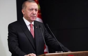 """Erdoğan'dan """"Milli Dayanışma Kampanyası"""" paylaşımı"""