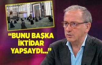 Fatih Altaylı sordu: Namazın VIP'i olur mu?