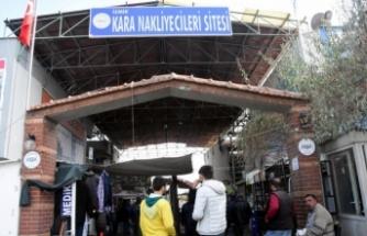 İzmir'de nakliyeciler sitesine girişler kısıtlandı