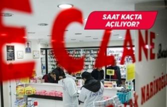 İzmir'de eczanelerin çalışma saatleri yeniden düzenlendi