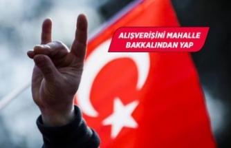 MHP İzmir'den kampanya: Alışverişi bakkalda yap!