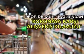 Prof. Dr. Osman Müftüoğlu'ndan 'koronaya karşı alışveriş kılavuzu'