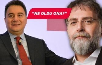 Ahmet Hakan, Ali Babacan'ı sordu!