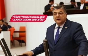 """CHP'li Sındır: """"Öğretmenlerimizin bir sosyal güvencesi bile yok"""""""