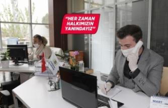Gaziemir Belediyesi yalnız hissedenlerin yanında