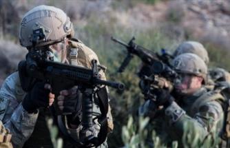 Irak'ta PKK'lı 2 terörist etkisiz hale getirildi