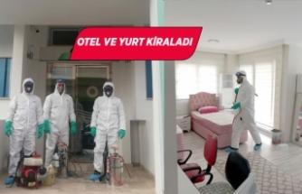 İzmir Büyükşehir Belediyesi'nden sağlıkçılara konaklama desteği