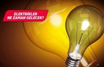İzmir'de 12 ilçede elektrik kesintisi!