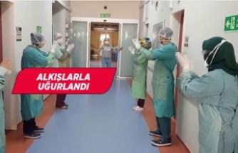 İzmir'de doktorun koronavirüs galibiyeti!