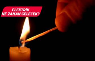 İzmir'in 8 ilçesinde elektrik kesintisi!