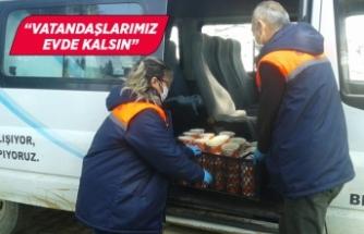 Kiraz Belediyesi'nden vatandaşlara yardım eli