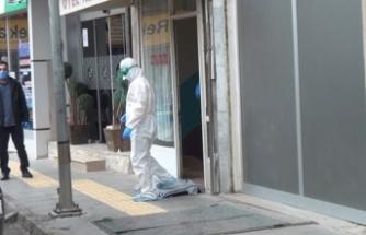 Koronavirüs karantinasından kaçan kişi otelde yakalandı